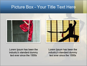 Silhouette of Martial Arts Master PowerPoint Template - Slide 18