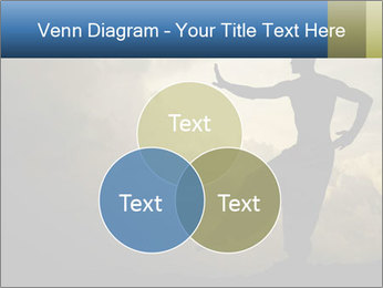Silhouette of Martial Arts Master PowerPoint Template - Slide 33
