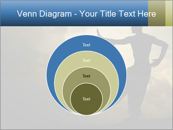Silhouette of Martial Arts Master PowerPoint Template - Slide 34