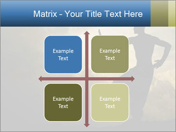 Silhouette of Martial Arts Master PowerPoint Template - Slide 37