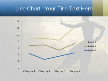 Silhouette of Martial Arts Master PowerPoint Template - Slide 54