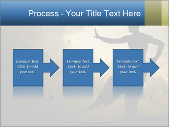 Silhouette of Martial Arts Master PowerPoint Template - Slide 88
