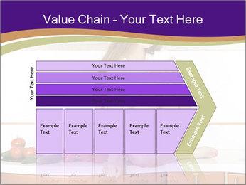 Vegan Girl Sitting on Kitchen Table PowerPoint Template - Slide 27