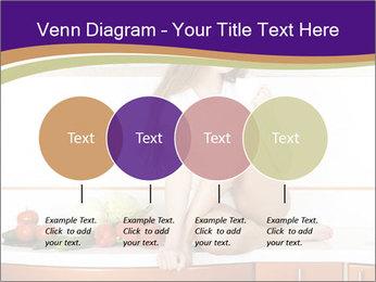 Vegan Girl Sitting on Kitchen Table PowerPoint Template - Slide 32