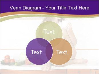 Vegan Girl Sitting on Kitchen Table PowerPoint Template - Slide 33