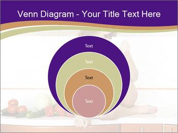 Vegan Girl Sitting on Kitchen Table PowerPoint Template - Slide 34