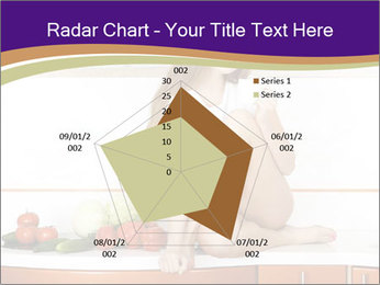 Vegan Girl Sitting on Kitchen Table PowerPoint Template - Slide 51