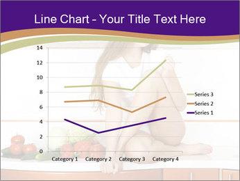 Vegan Girl Sitting on Kitchen Table PowerPoint Template - Slide 54