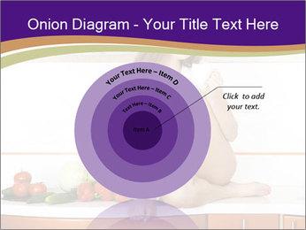 Vegan Girl Sitting on Kitchen Table PowerPoint Template - Slide 61
