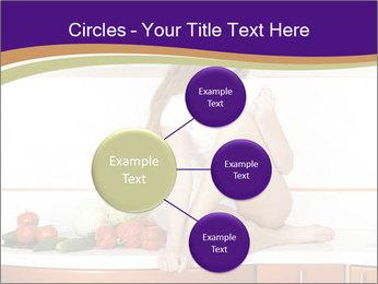 Vegan Girl Sitting on Kitchen Table PowerPoint Template - Slide 79