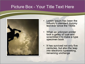 Dramatic Kungfu Fighter PowerPoint Template - Slide 13