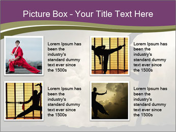 Dramatic Kungfu Fighter PowerPoint Template - Slide 14