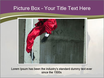Dramatic Kungfu Fighter PowerPoint Template - Slide 15