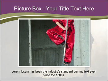 Dramatic Kungfu Fighter PowerPoint Template - Slide 16