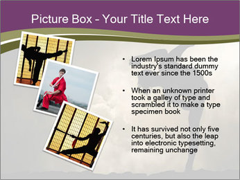 Dramatic Kungfu Fighter PowerPoint Template - Slide 17