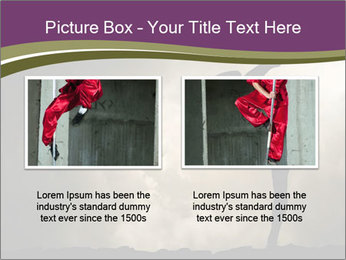 Dramatic Kungfu Fighter PowerPoint Template - Slide 18