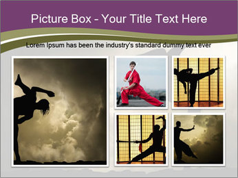 Dramatic Kungfu Fighter PowerPoint Template - Slide 19