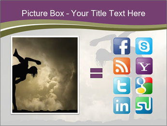 Dramatic Kungfu Fighter PowerPoint Template - Slide 21