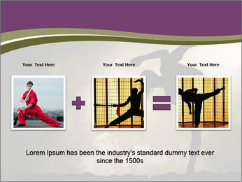 Dramatic Kungfu Fighter PowerPoint Template - Slide 22