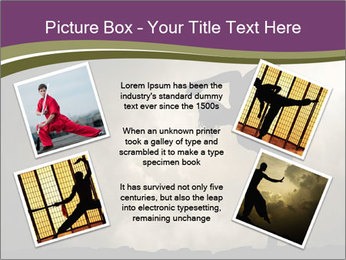 Dramatic Kungfu Fighter PowerPoint Template - Slide 24