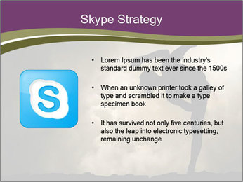 Dramatic Kungfu Fighter PowerPoint Template - Slide 8