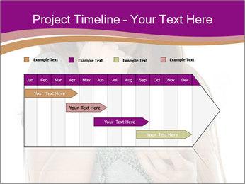 Schoolgirl Eats Cake PowerPoint Templates - Slide 25