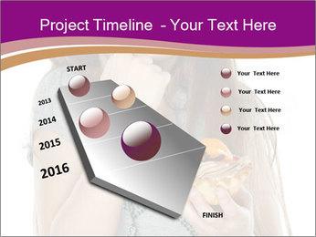 Schoolgirl Eats Cake PowerPoint Templates - Slide 26