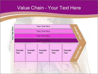 Schoolgirl Eats Cake PowerPoint Templates - Slide 27