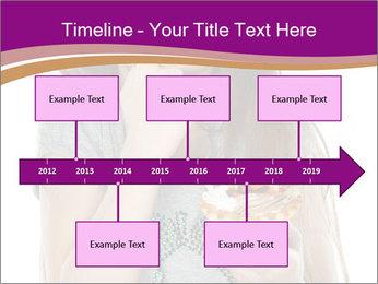 Schoolgirl Eats Cake PowerPoint Templates - Slide 28