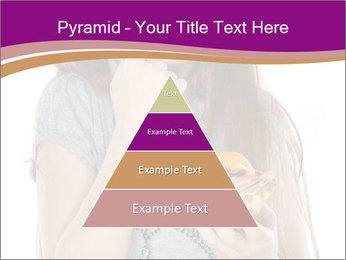 Schoolgirl Eats Cake PowerPoint Templates - Slide 30