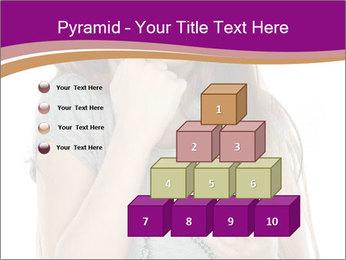 Schoolgirl Eats Cake PowerPoint Templates - Slide 31