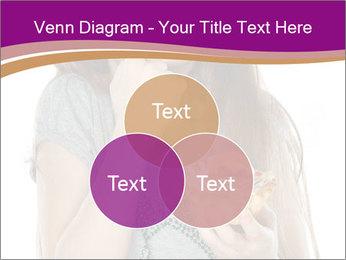 Schoolgirl Eats Cake PowerPoint Templates - Slide 33