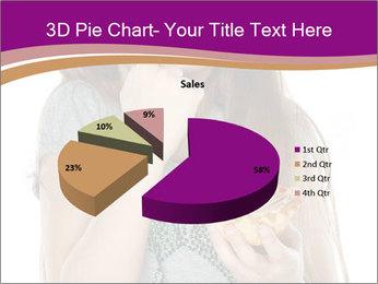 Schoolgirl Eats Cake PowerPoint Templates - Slide 35