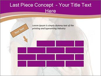 Schoolgirl Eats Cake PowerPoint Templates - Slide 46