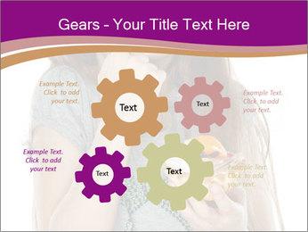 Schoolgirl Eats Cake PowerPoint Templates - Slide 47