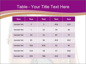 Schoolgirl Eats Cake PowerPoint Templates - Slide 55