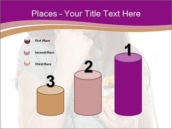 Schoolgirl Eats Cake PowerPoint Templates - Slide 65