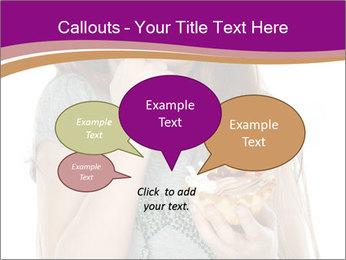 Schoolgirl Eats Cake PowerPoint Templates - Slide 73