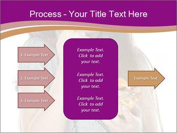 Schoolgirl Eats Cake PowerPoint Templates - Slide 85