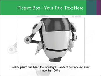 3D Robot Waiter PowerPoint Template - Slide 15