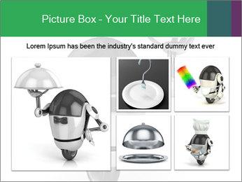 3D Robot Waiter PowerPoint Template - Slide 19