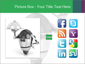 3D Robot Waiter PowerPoint Template - Slide 21