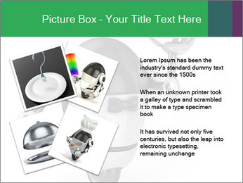 3D Robot Waiter PowerPoint Template - Slide 23
