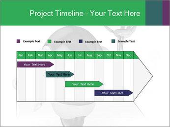3D Robot Waiter PowerPoint Template - Slide 25