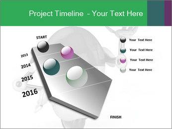 3D Robot Waiter PowerPoint Template - Slide 26
