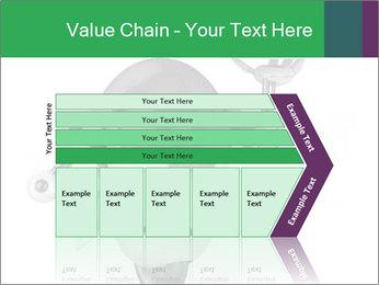 3D Robot Waiter PowerPoint Template - Slide 27