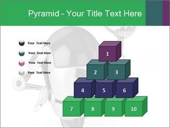 3D Robot Waiter PowerPoint Template - Slide 31