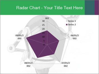 3D Robot Waiter PowerPoint Template - Slide 51