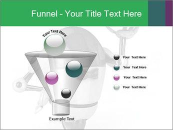 3D Robot Waiter PowerPoint Template - Slide 63