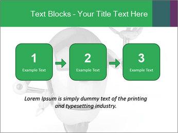 3D Robot Waiter PowerPoint Template - Slide 71